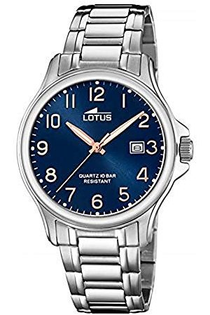 Lotus Herr analog kvartsklocka med rostfritt stål armband 18645/2