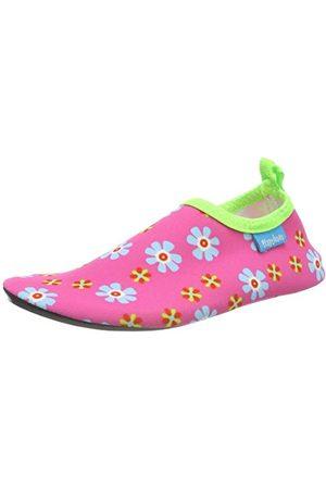 Playshoes Unisex barn badtofflor aqua-skor blommor, 18-20/21 EU