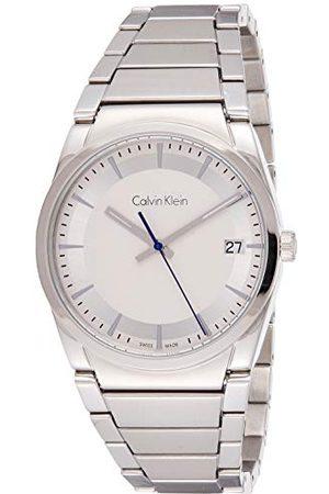 Calvin Klein Calvin liten herr analog kvartsklocka med rostfritt stål armband K6K31146