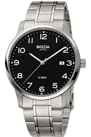 Boccia Herr analog kvartsklocka med titanarmband 3621–01