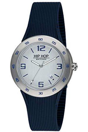 Hip Herr analog kvartsklocka med silikonarmband HWU0703