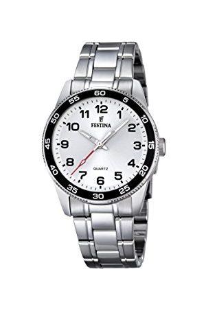 Festina Unisex analog kvartsklocka med rostfritt stål armband F16905/1