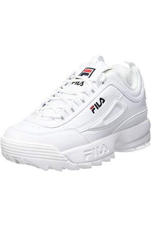 Fila Unisex barn Disruptor sneaker, vit33 EU
