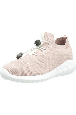 Hummel Unisex barn moln stickad Jr Sneaker, Pale Mauve - 1 UK
