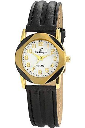 Classique Klassisk herr analog kvartsklocka med läderarmband RP3550200002