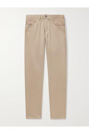 Peter Millar Ultimate Stretch Cotton and Modal-Blend Sateen Trousers