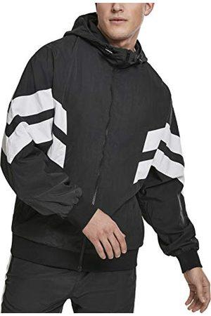 Urban classics Herr jacka crinkle Panel Track Jacket