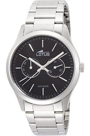 Lotus Herr analog kvartsklocka med rostfritt stål armband 15954/3