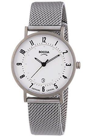 Boccia Pojkens kvartsklocka med urtavla analog display och titanarmband B3154-07