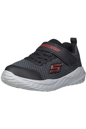 Skechers Pojkar Nitro Sprint-krodon Sneaker, textil trim29 EU
