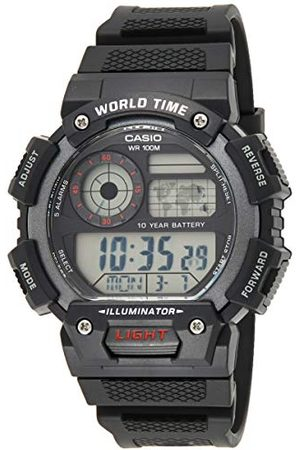 Casio Digital kvartsklocka för män med Resin armband armband En Storlek