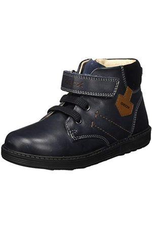 Geox Pojkar B Hynde Boy A Ankle Boot, marinblå svart25 EU