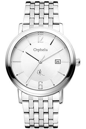 ORPHELIA Herrarmbandsur XL analog rostfritt stål 132-7709-88