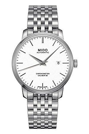 MIDO Mäns analog automatisk klocka med rostfritt stålrem M0274081101100