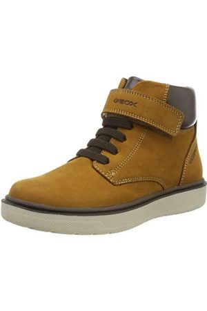 Geox Pojkar J Riddock WPF en Chukka stövlar, Yellow Dk Yellow C2006-11 UK Child