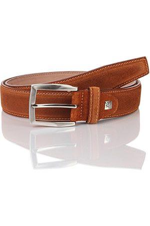 Lindenmann Herr äkta läder 1007331.022 bälte, brun (Cognac 22), 110