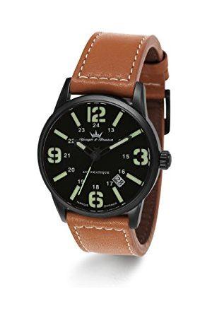 Yonger & Bresson – YBH 8351 – 88 – Xrem – visar män – automatisk analog – urtavla armband läder