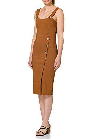 Pinko Kvinnors ALLEGRO vardaglig klänning, M30_Marrone Noce, 10