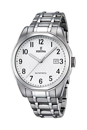Festina Herrar analog automatisk klocka med rostfritt stål armband F16884/1