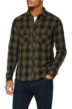 Mavi Herr indigo Check Shirt klassisk skjorta