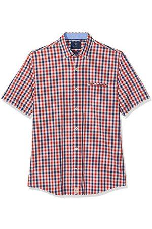 Pierre Cardin Herr Casual skjorta halvbarm karo underbutton fritidsskjorta