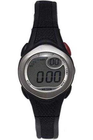 Dunlop Unisex vuxna digital kvartsklocka med gummiarmband DUN177L01
