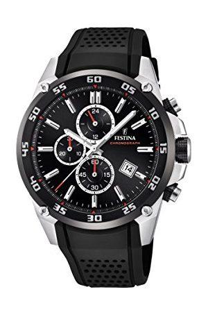 Festina The Originals Collection' kvarts klocka för män med urtavla kronograf display och gummiband F20330/5