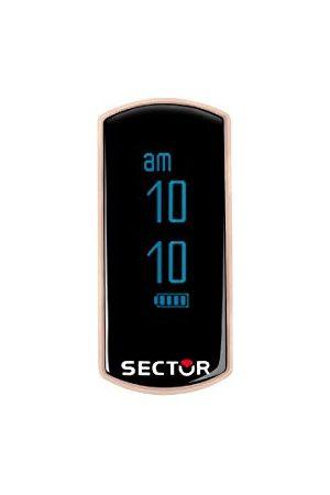 Sector Män digital smart klocka armbandsur med silikonarmband R3251569003