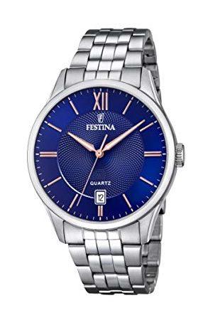 Festina Herr analog kvartsklocka med rostfritt stål armband F20425/5
