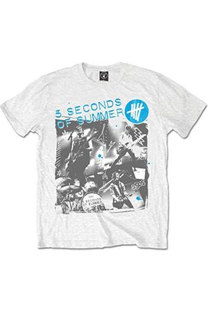 5 Seconds Of Summer 5 sekunder av sommaren levande collage kortärmad t-shirt