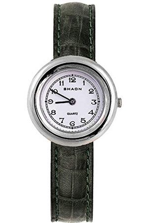 Shaon Dam analog kvartsklocka med läderarmband 38–1000–15
