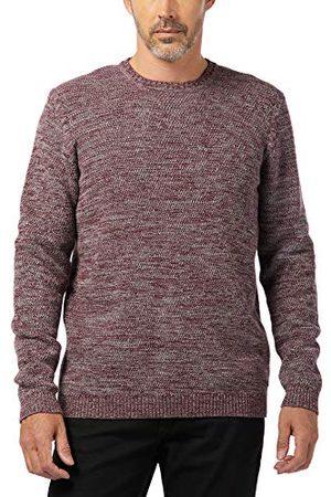 Pioneer Stickad tröja för män med rund hals jumper
