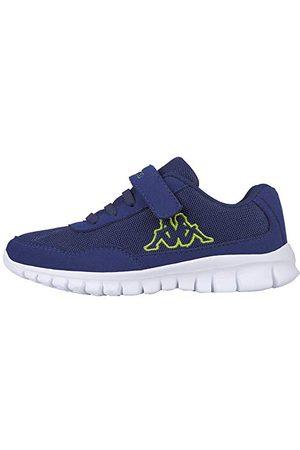 Kappa Unisex barn Follow Sneaker, svart28 EU