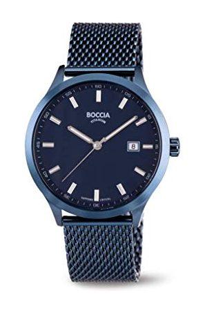 Boccia Analog kvarts klocka med rostfritt stål armband 3614-05
