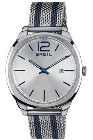 Breil Herr analog kvarts smart klocka armbandsur med tyg armband TW1728