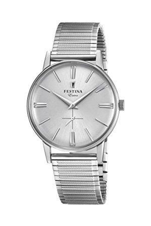 Festina Herr analog kvartsklocka med rostfritt stål armband F20250/1