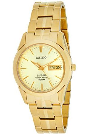 Seiko Herrar analog kvarts klocka med rostfritt stål armband SGGA62P1