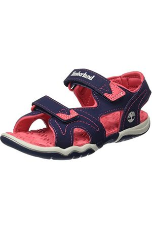 Timberland Unisex barn äventyr sökare 2 strap_tb0a1aas sandaler, marinblå31 EU