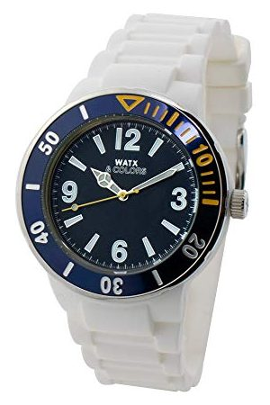 Watx Analog kvartsklocka med gummiarmband RWA1621-C1512