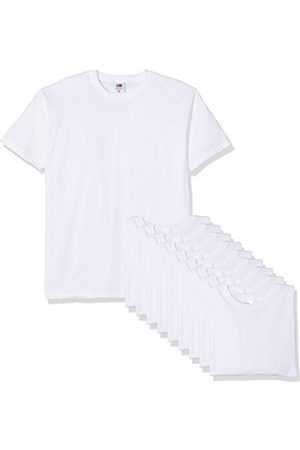 Fruit Of The Loom Men's Valueweight' kortärmad t-shirt (paket med 10)