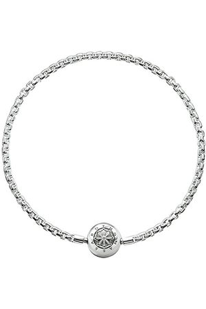 Thomas Sabo Dam herrarmband Karma Beads 925 sterlingsilver KA0001-001-12, längd L 16 –