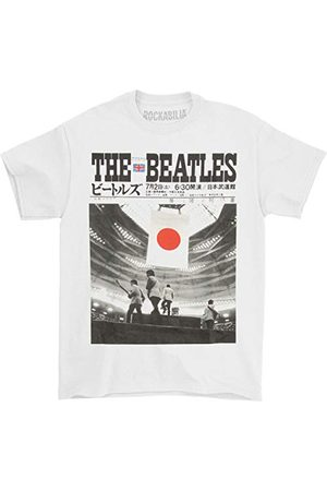 UNKNOWN The Beatles 'Live At The Budokan' kortärmad t-shirt
