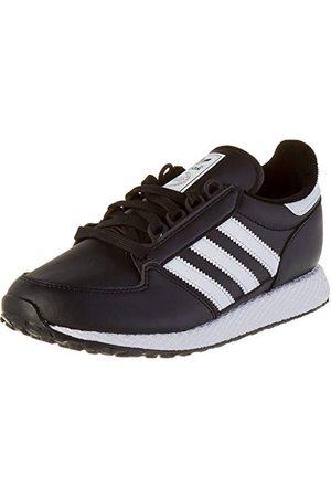 adidas Unisex Barnskogsgrove J Sneaker, Core Black Core Black Core Black4.5 UK