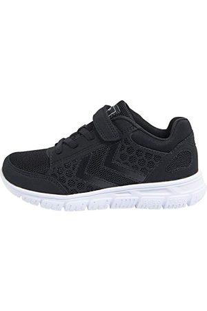 Hummel Unisex barn crosslite JR sneaker, Svartvit36 EU