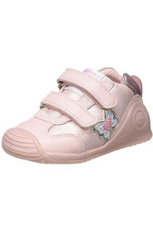 Biomecanics Baby-flicka 2122-a sneaker, Dalia Sauvage Y-textil21 EU