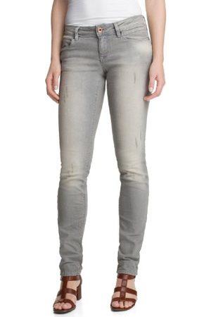 Esprit Dam smala jeans slim Destroeyd