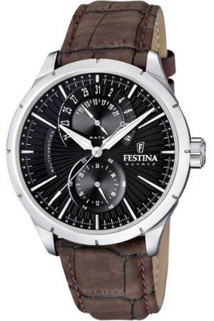 Festina Armbandsur för män analog kvarts F16573/4