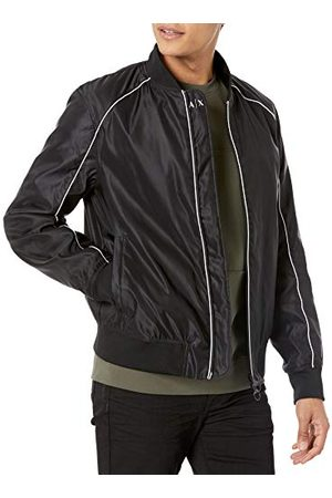 Armani Herr Black Allover Windbreaker