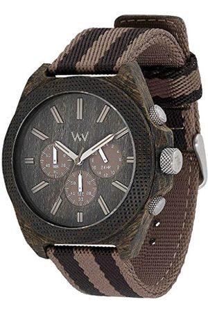 WeWood Herr analog kvarts smartklocka armbandsur med tyg armband WW56002