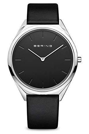 Bering Unisex analog kvartsklocka med rostfritt stål armband 17039–402